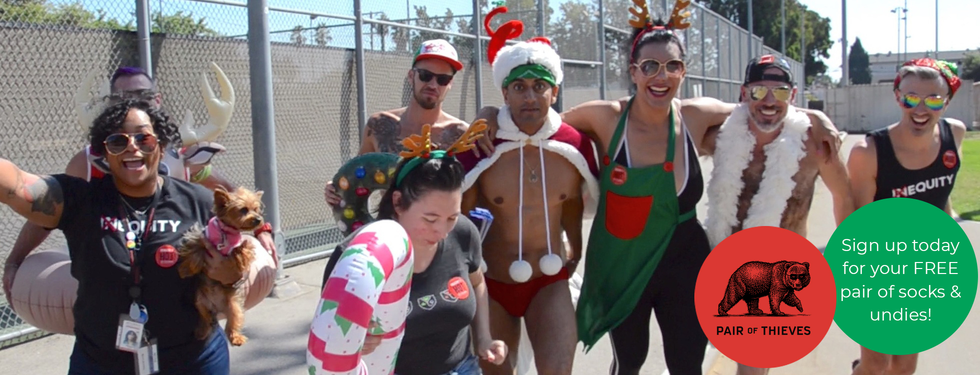 Fabulous Fun Run: Santa Strut